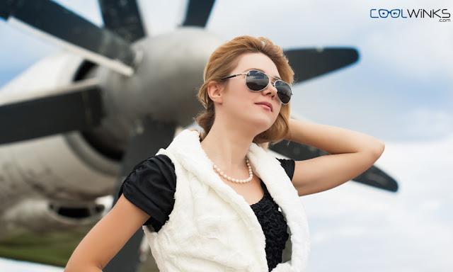 pilot shaped eyewear
