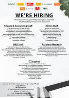 Open Recruitment at PT. World Innovative Telecomunication Surabaya Juni 2021