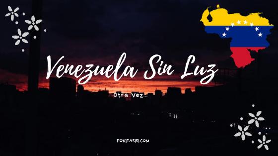 (Imagen) este lunes 22 de Julio cuando se volvió a registrar otro apagon en Venezuela que ha afectado a los 23 estados del país