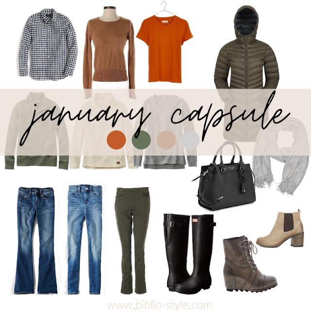 January Capsule Wardrobe