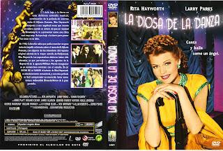 Carátula dvd: La diosa de la danza (1947)