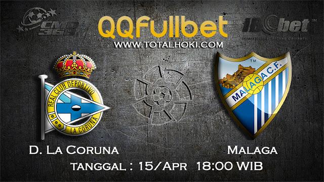 PREDIKSIBOLA - PREDIKSI TARUHAN D. LA CORUNA VS MALAGA 15 APRIL 2017 (LA LIGA SPANYOL)