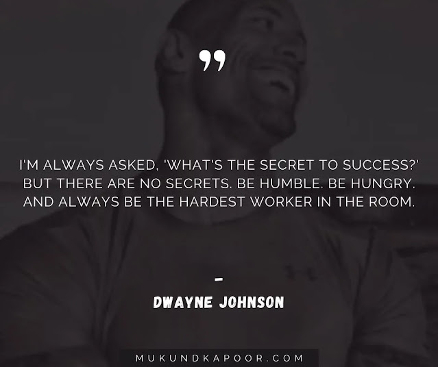 dwayne johnson quotes about life