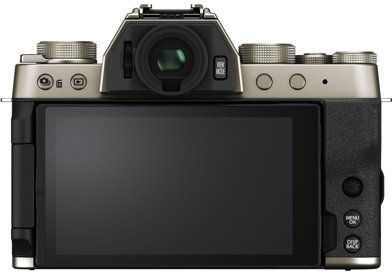 Fujifilm X-T200, вид сзади