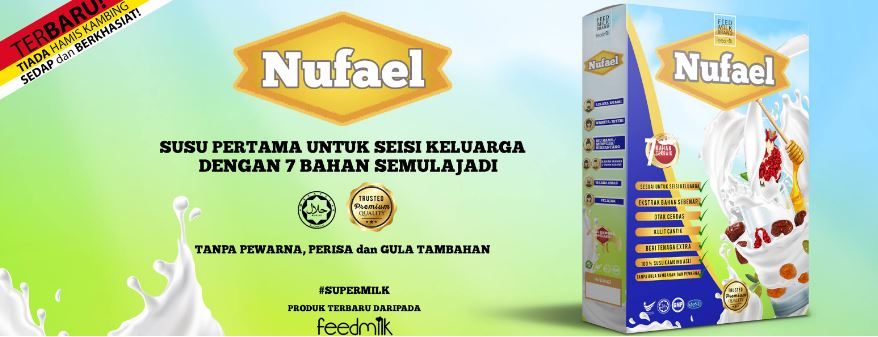 si cilik anas, duta produk, anak cergas, susu kambing, susu sihat, Nufael