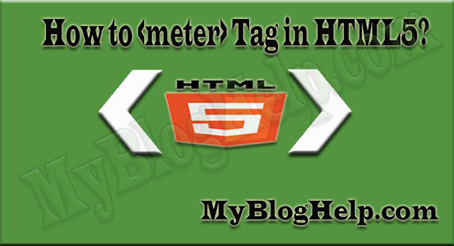 meter-tag-in-html