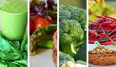 Ragam sayur yang bagus untuk diet