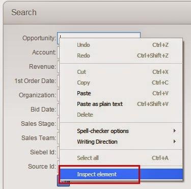 Inspect Element in Siebel Open UI - techonestop.com