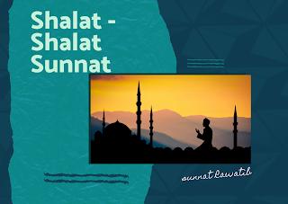 Shalat - Shalat Sunnat