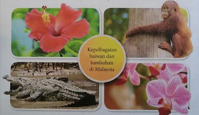 kepelbagaian haiwan dan tumbuhan di malaysia