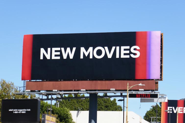 New Movies Netflix billboard