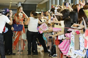 Miranda Kerr : highly anticipated and always fresh upon arrival in Japan!