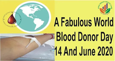 Give the world blood donors