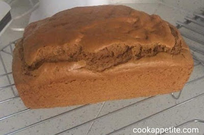 Quick Flourless Peanut Butter Bread! Easy to make and one of the healthiest Breads around. This peanut butter bread is made with no oil,no sugar and no flour yet it's delicious, sweet, moist, tender and it's full of peanut butter flavour.