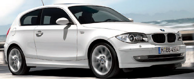 BMW 1 Series 3-door Collor White