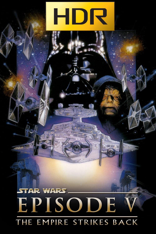 Star Wars: Episodio V (1980) 4K UHD HDR Webrip Latino