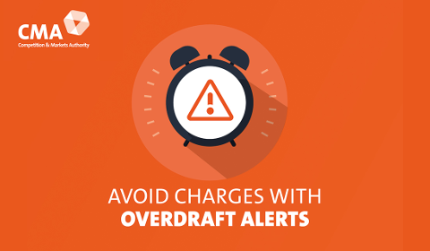 CMA –Avoid charges with overdraft alerts