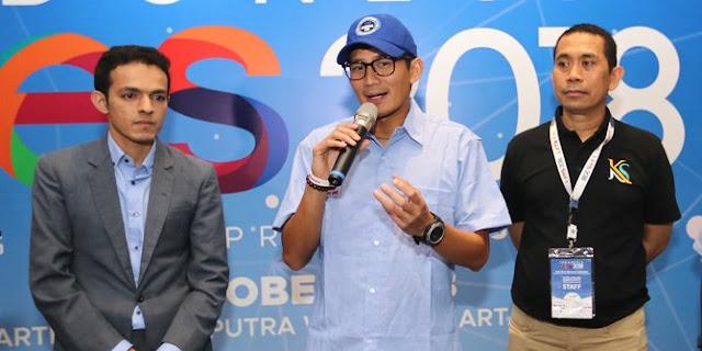 Fokus ekonomi bukan sengketa, Sandiaga hormati Yusril gabung Jokowi