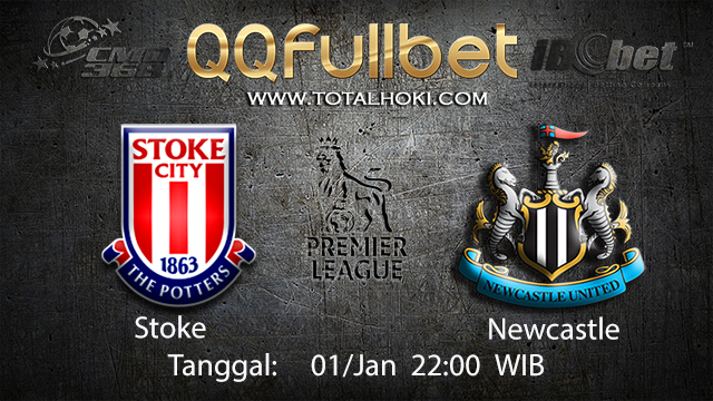 PREDIKSIBOLA - PREDIKSI TARUHAN BOLA STOKE VS NEWCASTLE 01 JANUARI 2018 ( ENGLISH PREMIER LEAGUE )