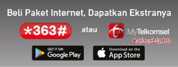 Akses Pembelian Data Internet Telkomsel