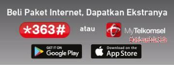 Akses Pembelian Data Internet Telkomsel