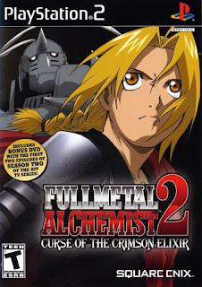 Fullmetal Alchemist 2 Curse of The Crimson Elixir PS2 Torrent