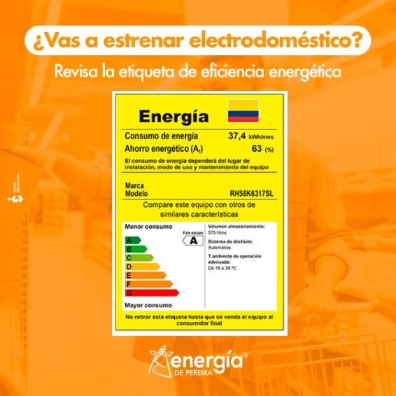 ¿Vas a estrenar electrodoméstico?