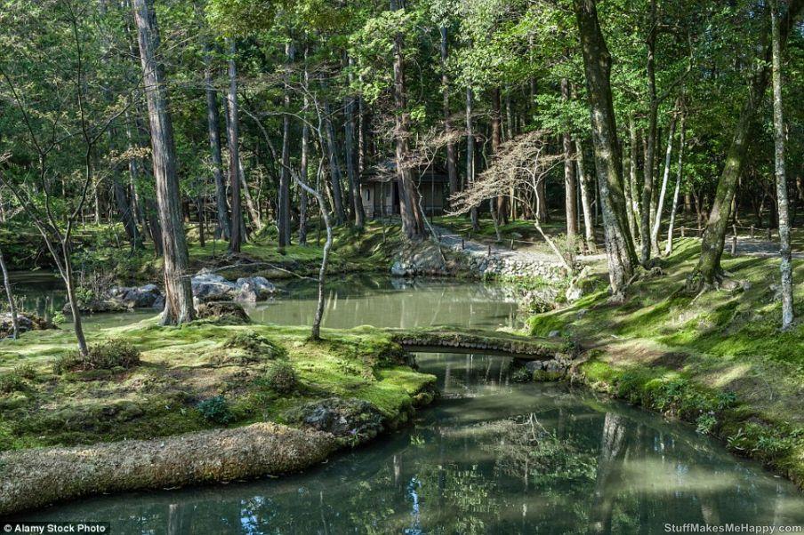 8. Buddhist Monastery Sayhodzi, Japan.