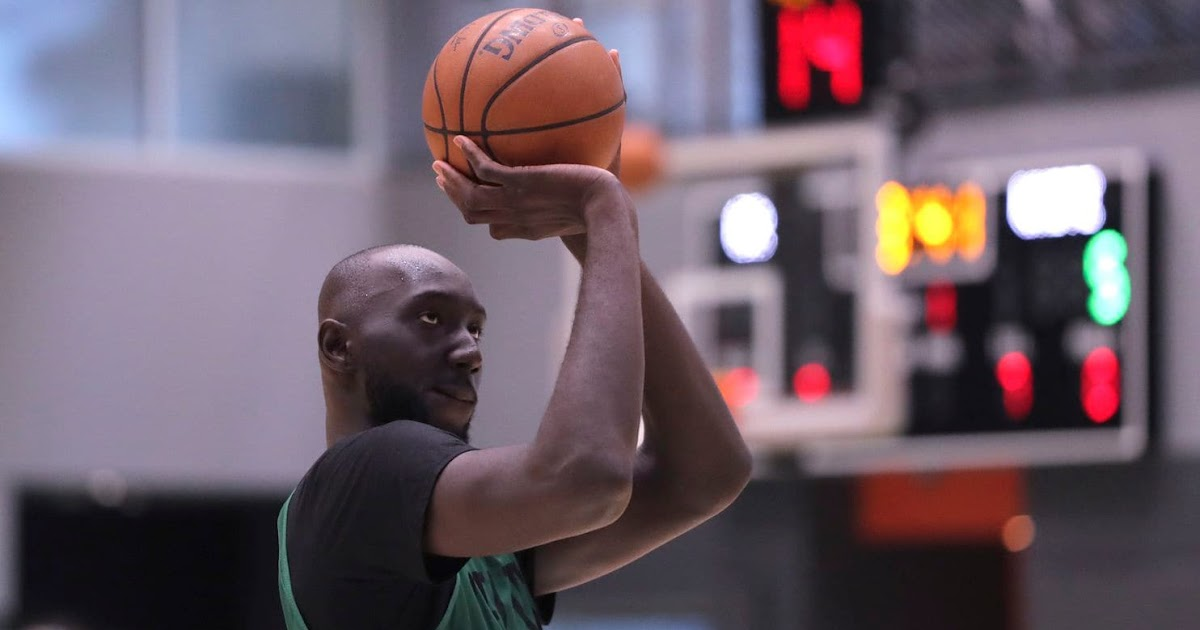 Tacko Fall trains with 76er's center Joel Embiid; Spends time with an NBA Hall of Famer in Africa