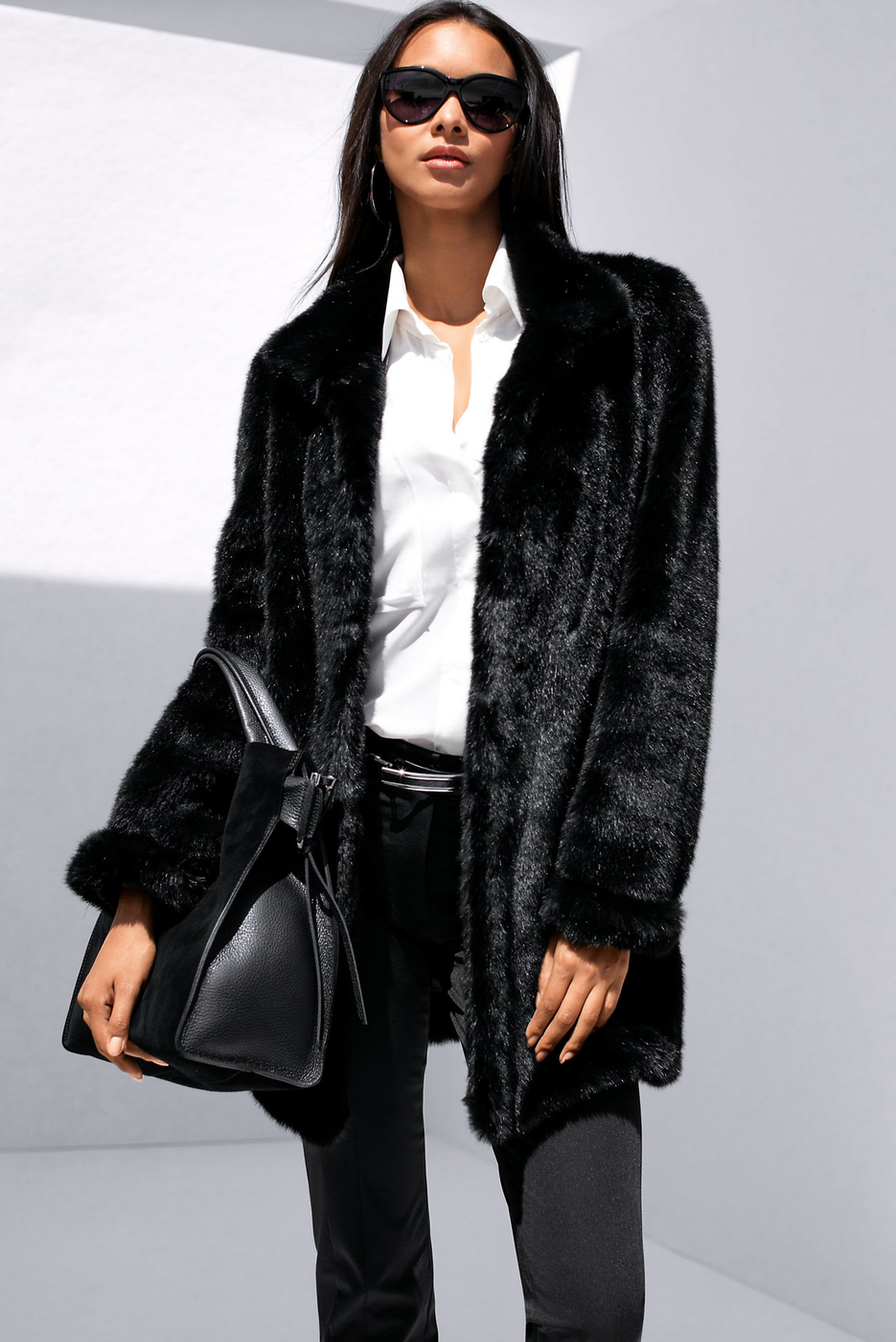 Madeleine Faux Fur Jacket