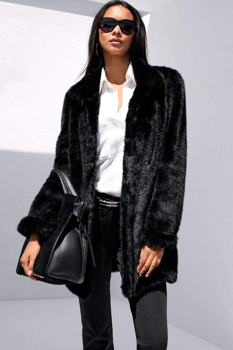 Madeleine Faux Fur Jacket
