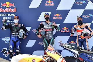 Quartararo Star Terdepan di MotoGP Spanyol
