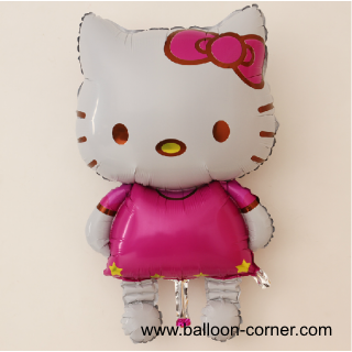 Balon Foil Karakter Hello Kitty Jumbo