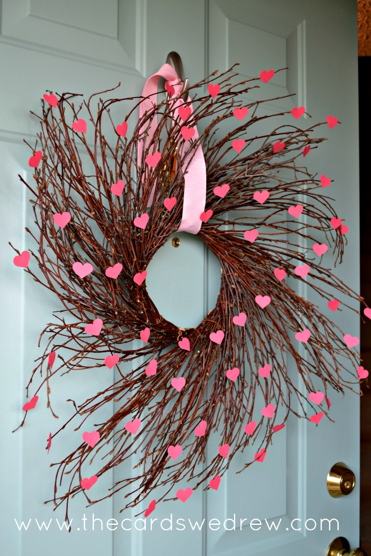 Valentine S Heart Willow Wreath