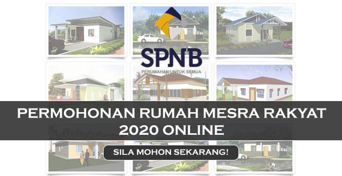 Permohonan Rumah Mesra Rakyat 2020 Online
