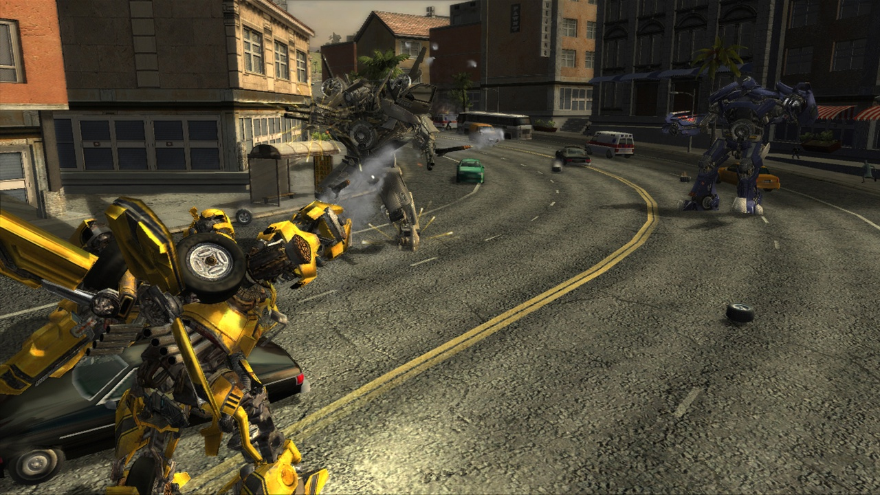 Transformers 1: The game