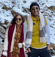shaheer sheikh with her wife ruchika kapoor photos