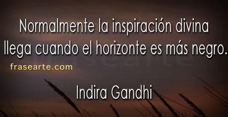 Indira Gandhi en frases