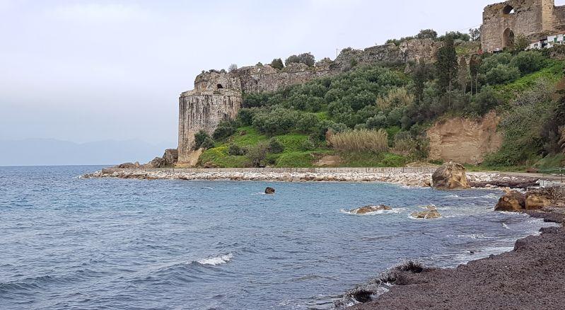 Festung Koróni auf dem Peloponnes