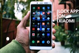 Cara kunci aplikasi di hp xiaomi sangat mudah melalui menu keamanan