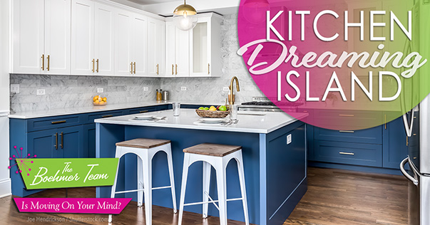 Kitchen Island Dreaming