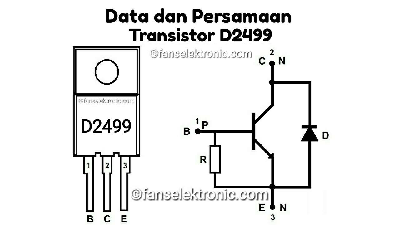 Persamaan Transistor D2499