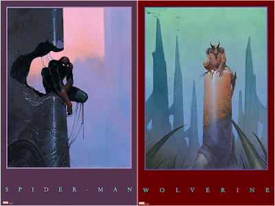 The Marvel Art of Moebius Giclee Prints by Grey Matter Art
