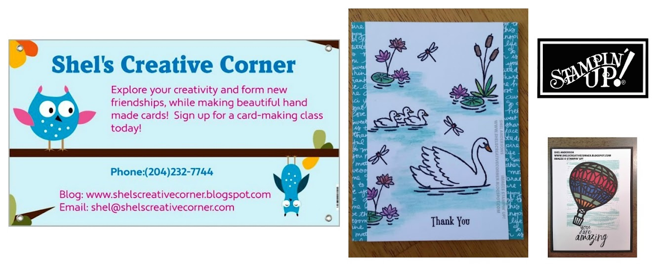 SHEL'S CREATIVE CORNER...FOR ALL THINGS STAMPIN' UP!
