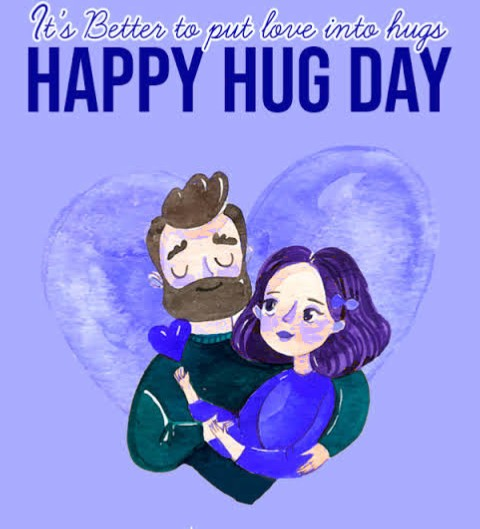 Happy Hug dey