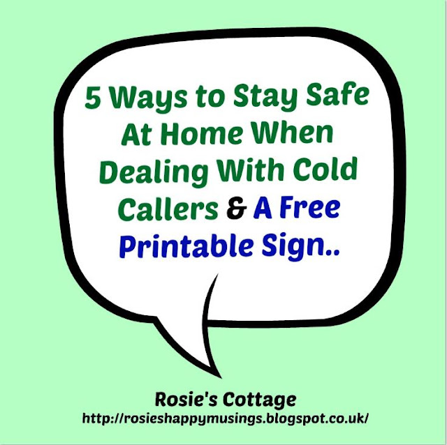How To Stay Safe When Dealing With Cold Callers At Home
