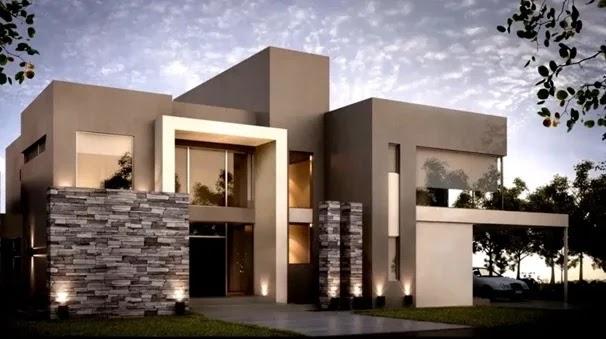 100 fachadas de casas modernas