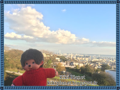 bubbles le monchhichi kiki Le Havre, les jardins suspendus, kiki le vrai, le kiki de tous les kiki