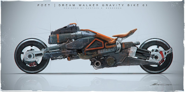 Poet : Dream Walker Gravity Bike by Gustavo H Mendonca