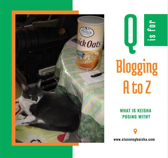 Blogging From A to Z: Q is for …